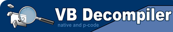 VB Decompiler :: P-Code, Native Code Decompiler for VB programs