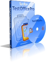 Click to view SunRav TestOfficePro. Commercial site license. screenshots