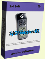 ZylGPSReceiverAX (ActiveX) - Single Developer License