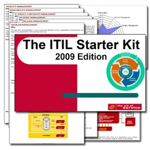 The ITIL V3 Starter Kit - All New 2009 Edition Screen shot