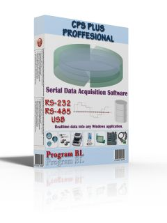 CPS Plus - Serial Data Acquisition Software - PROFESSIONAL Release