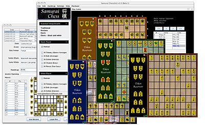 Shogi: Samurai Chess - Download Purchase (Link Emailed) Screen shot