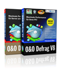 Click to view O&O Defrag 8 Starter-Kit (1 Server + 25 Prof. Edition, Update) screenshots