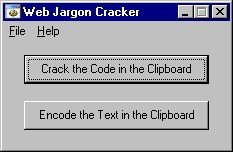 Click to view Web Jargon Cracker screenshots