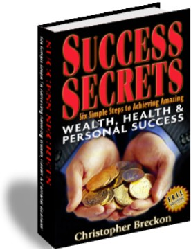 Success Secrets: Six Simple Steps Digital Edition Screen shot