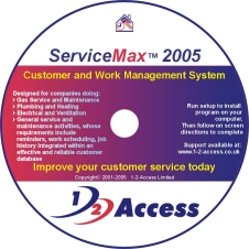 ServiceMax 2005 Solo (1 Engineer) Screen shot