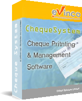 Click to view ChequeSystem Software screenshots
