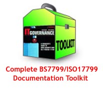 Standalone ISMS (ISO 27001/BS7799) Documentation Toolkit (Download) Screen shot