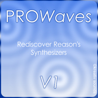 KS PROWaves V1 - Rediscover synthesizers (Reason ReFill)