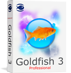 Goldfish 3 Professional Screen shot