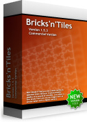 Click to view Bricks'n'Tiles - Easy Creation of Architectural Textures screenshots
