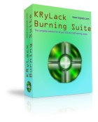 KRyLack Burning Suite Screen shot