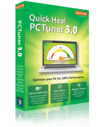Quick Heal PCTuner Screen shot