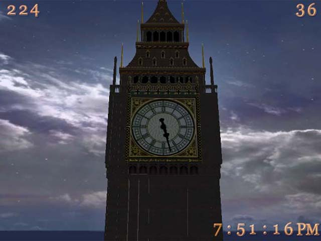 Big Ben 3D Screensaver