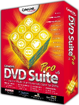 CyberLink DVD Suite 6 Pro (Box version)