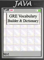GRE Vocabulary Builder Screen shot