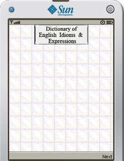Dictionary of English Idioms & Expressions Screen shot