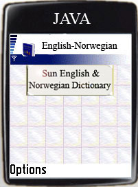 Click to view Sun English-Norwegian Dictionary screenshots