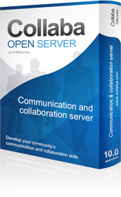 Collaba Open Server User License 1-Year