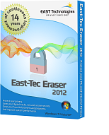 Click to view east-tec Eraser 2014 screenshots