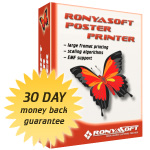 RonyaSoft Poster Printer (Home license)