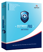 Outpost Antivirus Pro - Family License (2 year) Screen shot