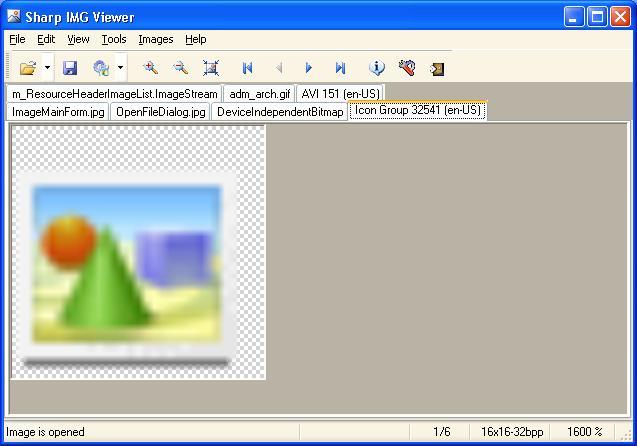 Windows 7 Sharp IMG Viewer 2008 full