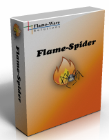 Flame-Spider - Sitemap Generator Screen shot