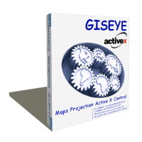 Click to view GISEYE Map Projection ActiveX screenshots