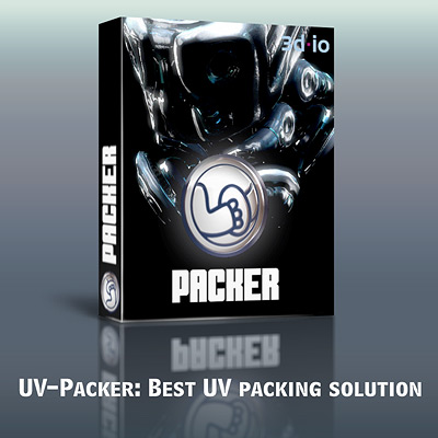 UV_Packer plug-in for 3D Studio MAX (single-seat license)