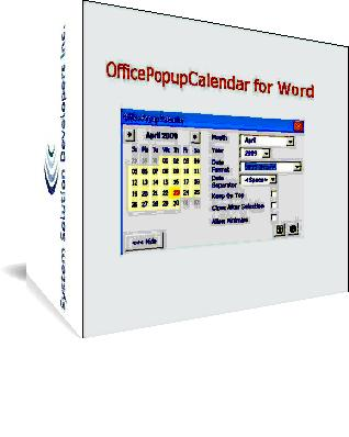 OfficePopupCalendarWord
