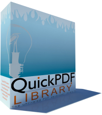 Debenu Quick PDF Library [Windows] - Single Developer License + Premium Upgrade Protection