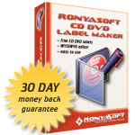 RonyaSoft CD DVD Label Maker (Home license)