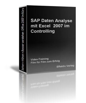 Click to view SAP Daten Analyse mit Excel 2007 im Controlling, Videotraining screenshots