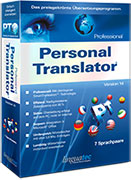 Click to view Personal Translator 14 Professional (Update 199 Euro) screenshots