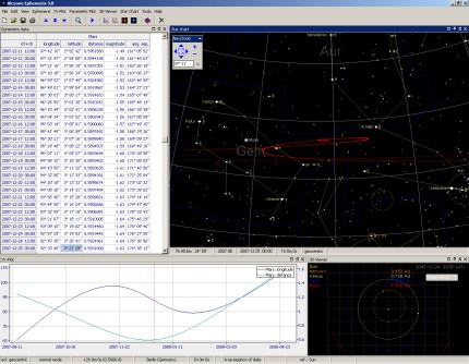 Alcyone Ephemeris 4 Screen shot