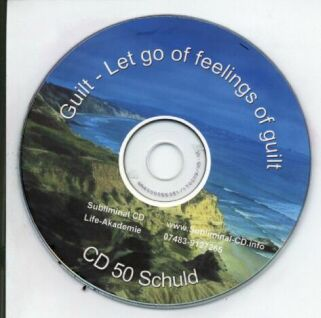 Click to view Subliminal mp3 CD 50 Guilt Let go of feelings of guilt screenshots