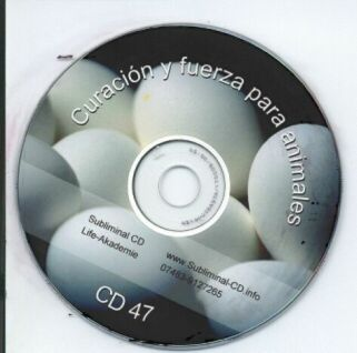 Click to view CD Subliminal 47 Curacion y fuerza para animales screenshots