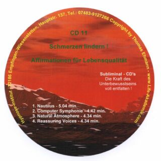 Click to view Subliminal CD - Schmerzen lindern screenshots