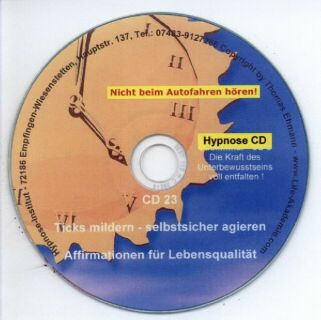 Hypnose CD - Ticks mildern - selbstsicher agieren Screen shot