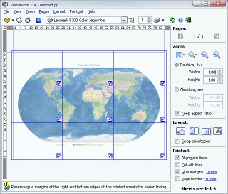 Click to view PosterPrint 2.4 EDU (20 licenses) screenshots
