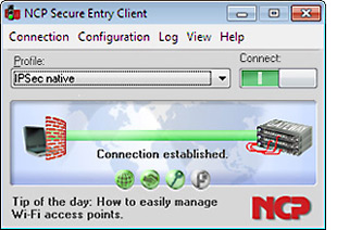 NCP Secure Entry Client for Win32/64 Non-profit/Gov Edition