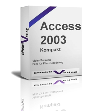 Access 2003, Videotraining