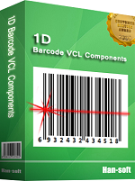 1D Barcode VCL Components (Team license)