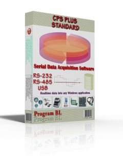 CPS Plus Standard V.5 - Data Acquisition Software