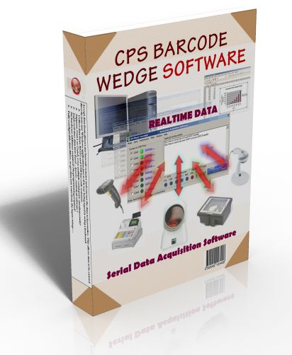 CPS Barcode Wedge Software V.5 * Unlimited Site License *