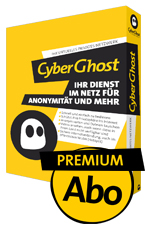 Click to view CyberGhost Premium VPN Subsription/Abo screenshots