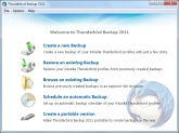 Thunderbird Backup 2011 Screen shot