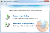 Firefox Backup 2011 Elements Screen shot