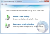 Thunderbird Backup 2011 Elements Screen shot
